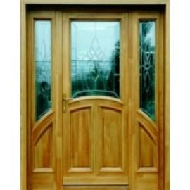 P11 ólomüveges bejárati ajtó