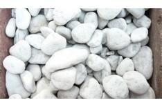 Carrara Bianco kerti díszkő